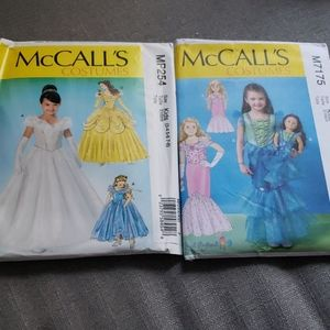 Sewing Pattern McCall's Princess Costumes